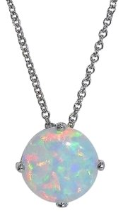 Other Opal Round Pendant .925 Sterling Silver