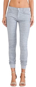Mother Skinny Pants Heather Grey