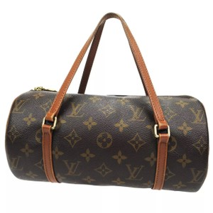 Louis Vuitton Lv Vintage Papillon 26 Satchel in Brown
