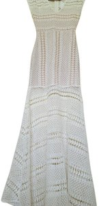Maxi Dress by Charlotte Russe Crochet Coachella Hippie Bohemian Summer