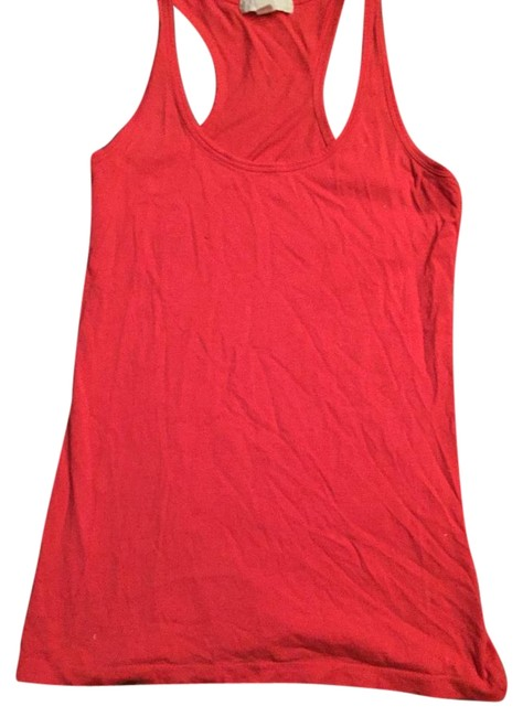 Forever 21 Coral Tank Top/Cami Size 4 (S) Forever 21 Coral Tank Top/Cami Size 4 (S) Image 1