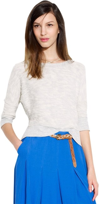 Preload https://item3.tradesy.com/images/madewell-marled-cloud-silver-lining-sweatshirthoodie-size-12-l-1858167-0-0.jpg?width=400&height=650