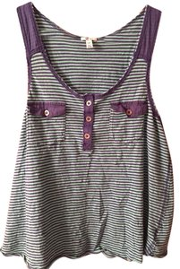 Heritage 1981 Striped Cute Going Out Sexy Night Out Fun Party Blouse Top