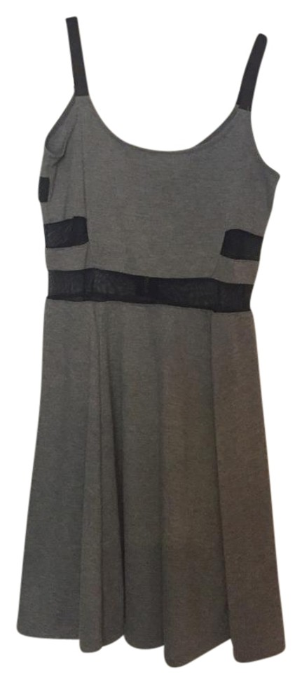 c682d9185ee Divided by H&M Gray Above Knee Night Out Dress Size 4 (S)