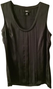 Mossimo Supply Co. Black Going Out Sexy Sleeveless Blouse Going Out Black Top