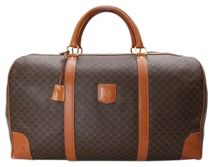 Cline Celine Vintage Monogram Brown Travel Bag