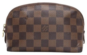Louis Vuitton Louis Vuitton Pochette Cosmetique Damier Ebene Cosmetic Bag Pouch