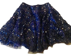 Mini Skirt Blue