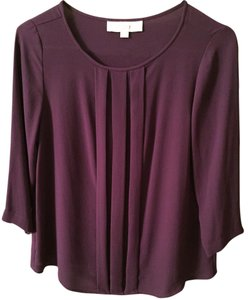 Ann Taylor LOFT Sexy Going Out 3/4 Sleeve Work Top