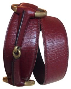 Gucci Gucci ~ Reduced! ~ Tom Ford Horsebit Wide Leather Belt