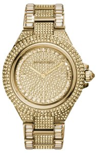 Michael Kors Michael Kors Camille Pave Gold-Tone Crystal Encrusted Watch