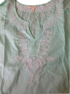 Other Set Top Mint green pink