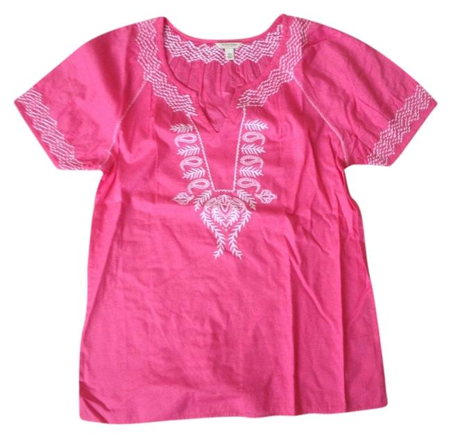 Other Embroidery Top Pink