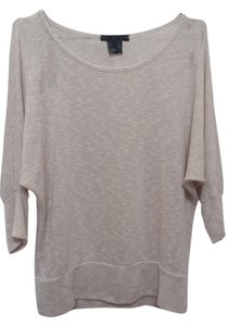 Forever 21 Knit Top beige