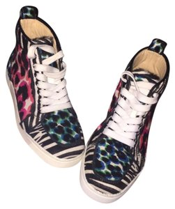 Christian Louboutin Pink Black Blue White Athletic
