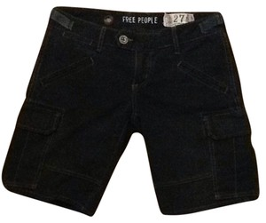 Free People Cargo Shorts Black