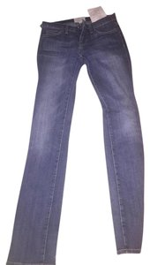Current/Elliott Current Elliott Denim Straight Leg Jeans-Medium Wash