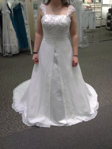 David's Bridal Ntv9010 Wedding Dress