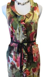 Vera Wang short dress multi-color Femenin on Tradesy