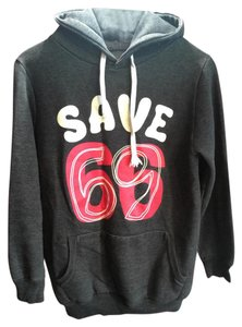 Hooded Graphic Sweater