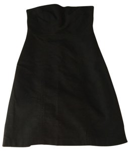 Merona short dress Brown Chocolate Strapless Above The Knee Strapless on Tradesy
