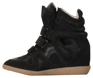 Isabel Marant Black Wedges