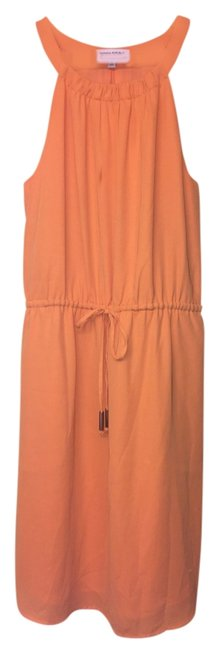 Banana Republic short dress Orange on Tradesy