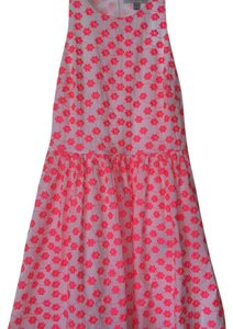 J.Crew short dress Hot pink on Tradesy