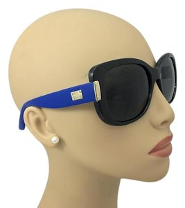 Versace Black and Blue Oversize Versace Sunglasses MOD. 4311 GB1/87 56