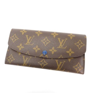 Louis Vuitton Louis Vuitton Emilie Wallet with Blue