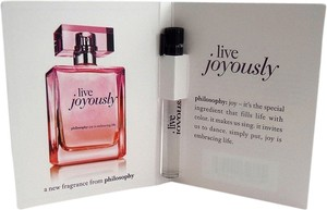 NEW PHILOSOPHY Live Joyously EdP Mini Travel Size Dabber /Sample