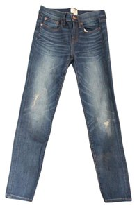 J.Crew Distressed Toothpick Skinny Jeans-Distressed