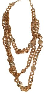 Dillard's rose gold necklace