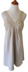 Carole Little short dress Beige on Tradesy