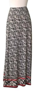 Max Studio Maxi Skirt Black