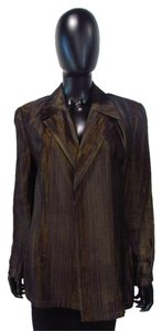 Carlisle Blue and Brown Blazer