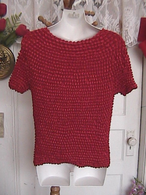 Cool Wear USA Lovely Strecthy Top Red