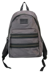 Marc Jacobs Rustic Hardware Nylon Marc By Black Leather Trim Backpack