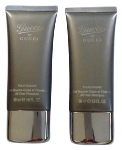 Gucci Pour Homme All Over Shampoo 50ml/1.6oz x2