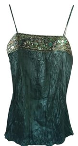 Beaded Top emerald green