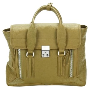 3.1 Phillip Lim Pashli Satchel in Green