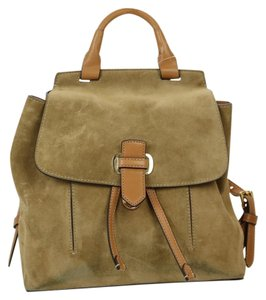 Michael Kors Swede Gold Hardware Backpack