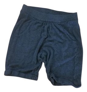 Vince Cuffed Shorts Charcoal