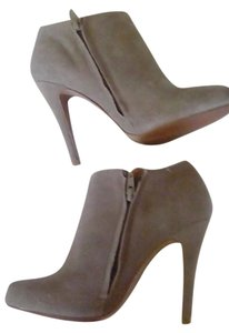ALDO Leather Suede New Fashionable Taupe Boots