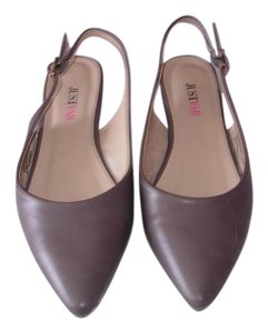 JustFab Taupe Flats