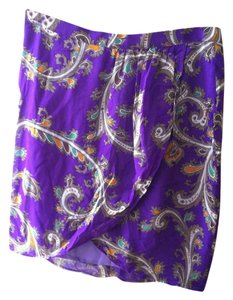 Madewell Mini Skirt PURPLE