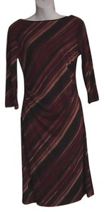 La Belle short dress Maroon on Tradesy