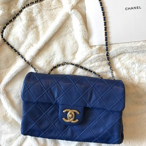 Chanel Cc Leather Flap Shoulder Bag