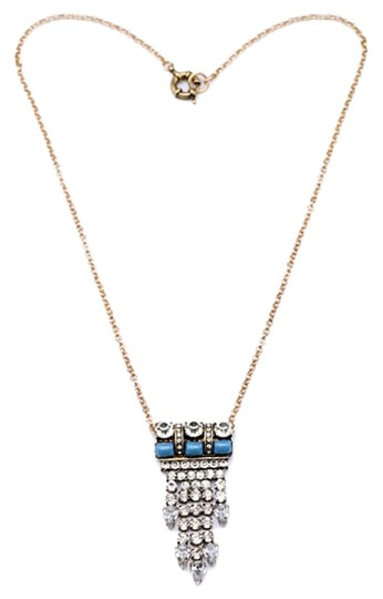 Preload https://img-static.tradesy.com/item/1859147/turquoise-crystal-and-stone-pendant-necklace-0-0-540-540.jpg