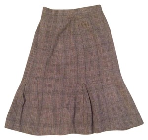 Patrick James Skirt Camel Hair